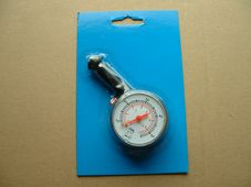 Tyre pressure guage, dial type, 10lb to 50lb